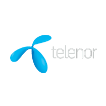 Logo Telenor - Client ECI Media Management
