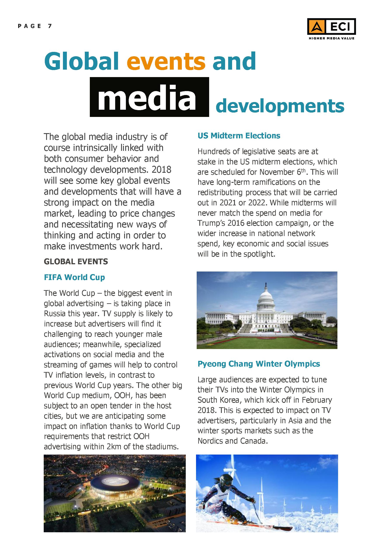 ECI - Global Media Inflation forecast Report 2018 - 7